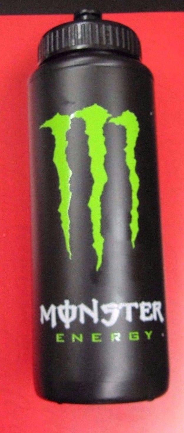 Monster Energy Drink Black Water Bottle | eBay