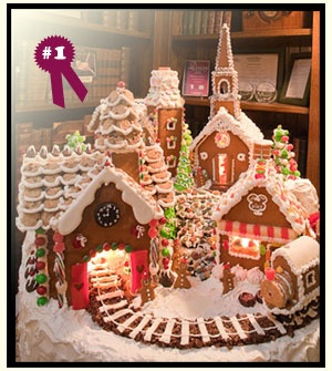Hey Ashleigh ya could do this gingerbread house/village next year! Lol