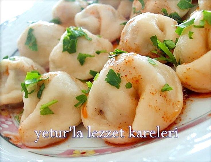 yetur'la lezzet kareleri: pelmeni-bardak ağzı mantı ( rus mutfağından)