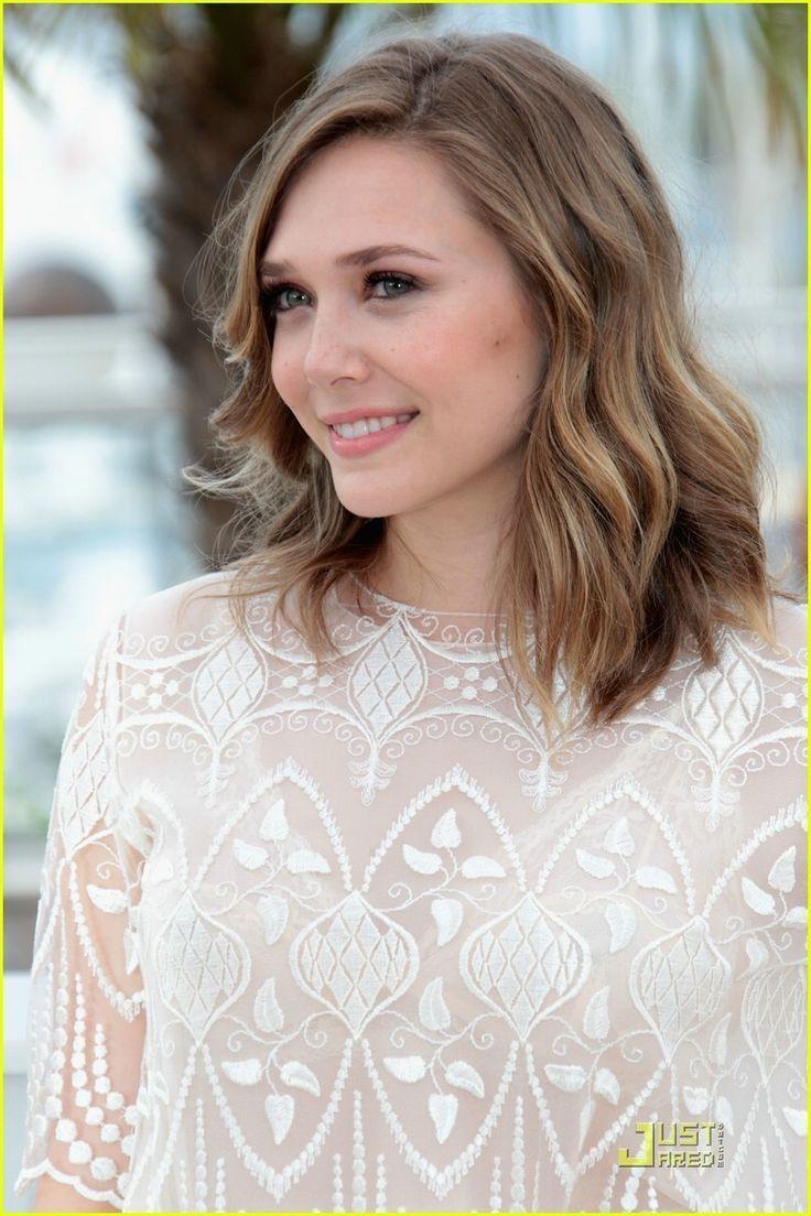 Just Jared Celebrity Gossip And >> Elizabeth Olsen | Hair: Short | Pinterest | Bobs, Wavy bobs and Light browns