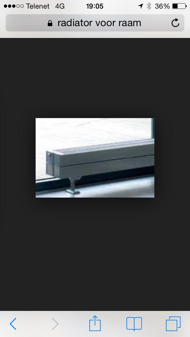 Radiator voor raam kkn