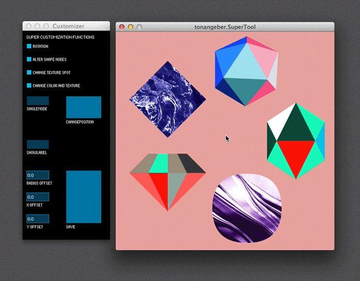 Creative Review - TwoPoints' flexible identity for Tonangeber