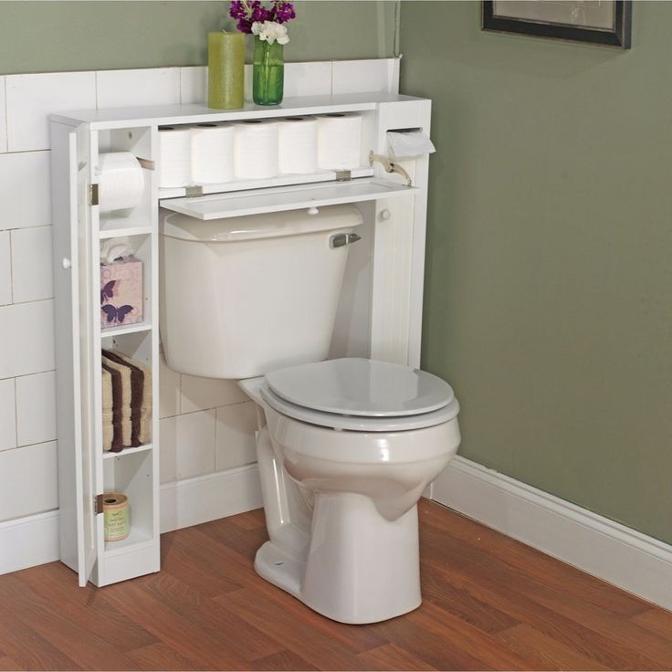 Bathroom Space Saver Cabinet Toilet Storage Organizer Furniture Shelves WhiteThis clever and versatile bathroom space saver allows you to utilize extra space for all your bathroom storage needs. The generous center cabinets and two side cabinets allow you to organize and separate your personal products. | eBay!