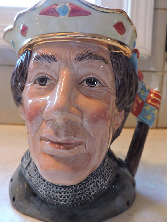Henry V Shakespearean Collection Large Royal Doulton Toby Jug
