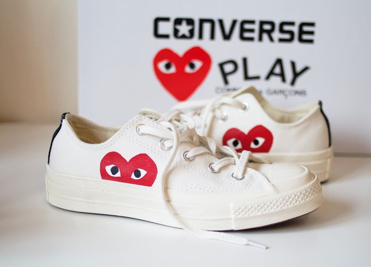 Converse And Comme Des Garçons PLAY Collaboration