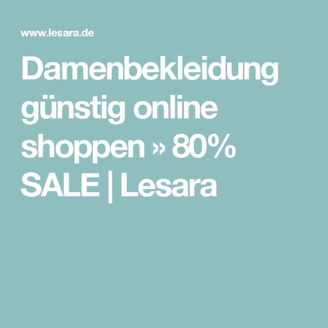 Damenbekleidung günstig online shoppen » 80% SALE | Lesara
