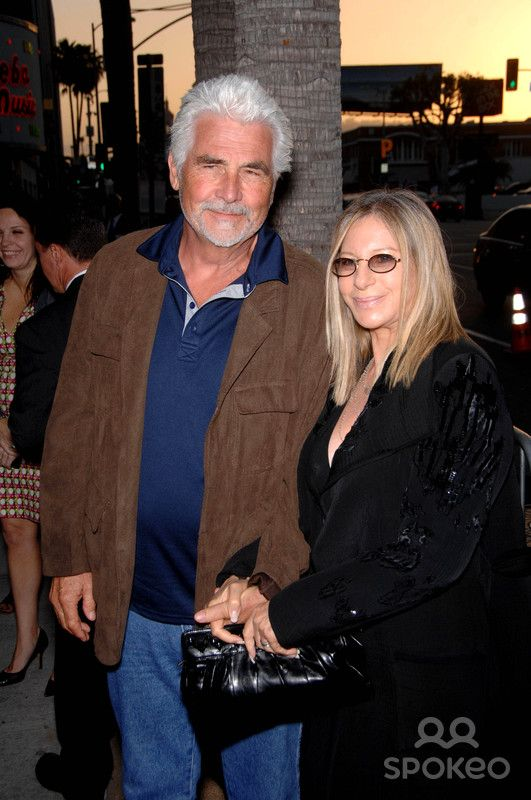 James Brolin and Barbra Streisand During the Premiere of ...