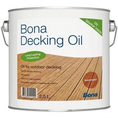 Ulei intretinere terasa Bona Oil Teak 2.5 litri  Tipul de ulei intretinere terasa Decking Oil Teak de la Bona este un amestec concentrat de uleiuri vegetale, modificate pentru a asigura o impregnare superioara si o protectie de lunga durata a pardoselilor de tip deck sau a altor elemente de lemn montate la exterior. #uleiterasa #uleideck #uleibona