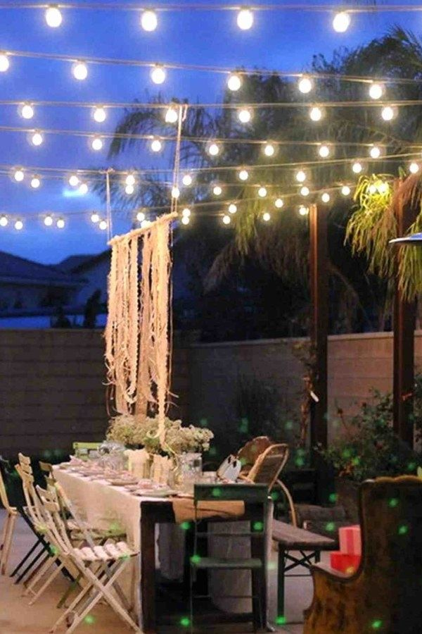 29 Awesome Diy Patio Lighting Ideas You Might Consider For Your Outside Spaces Patio Tuinarchitectuur Light Bulb