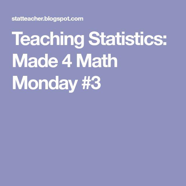 Best 25+ Statistics math ideas on Pinterest Statistics, Range - statistics worksheet