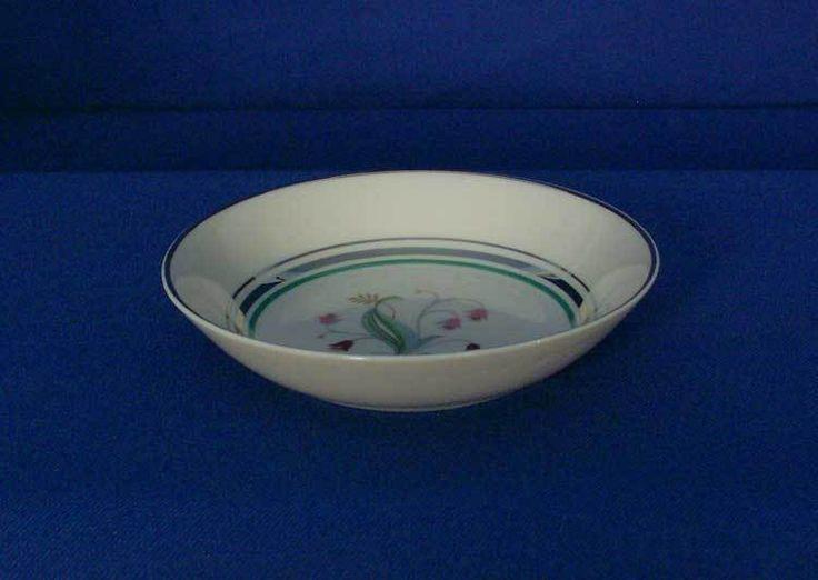 Syracuse USA Old-Ivory Coralbel Pattern Coupe Fruit Bowl bfe2315 #Syracuse