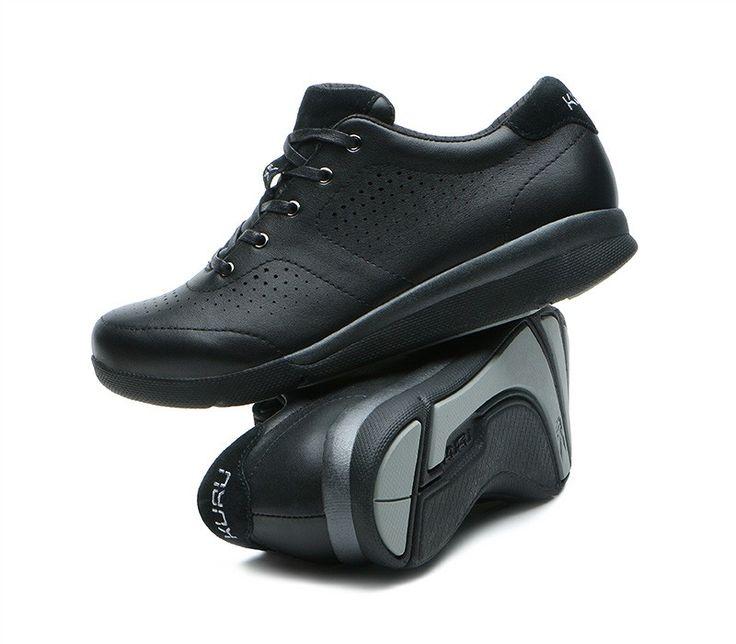Lida Women S Lace Up Black Shoes Kuru