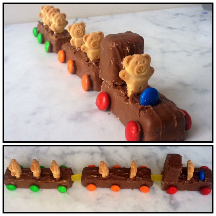 All Aboard the Teddy Train. Find the recipe on www.thepartybebe.com.