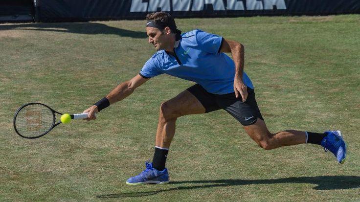 Em preparação para Wimbledon, Federer cai para Haas na estreia em Stuttgart - 14/06/2017 - UOL Esporte
