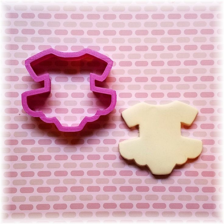 Onesie Tutu Cookie Cutter by KrysKut on Etsy