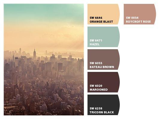 1000 Images About I Love Color Palettes On Pinterest