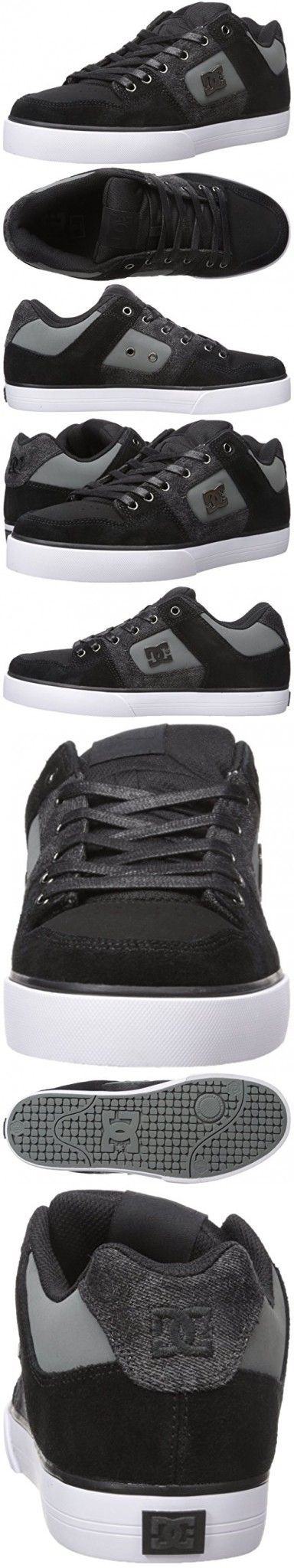DC Red de Hombres SE, Black Destroy Wash, 9 D US