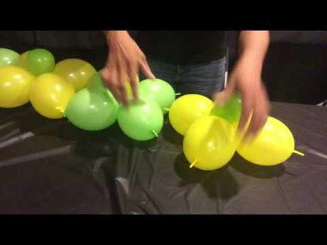 how to make a balloon wall backdrop