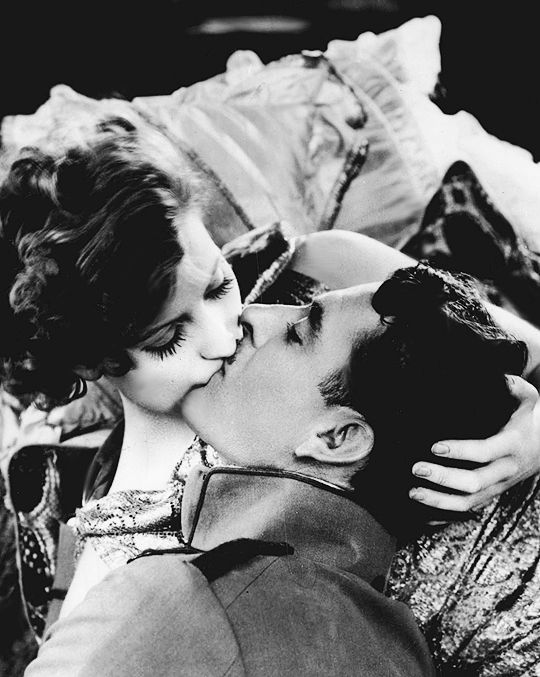 "theloudestvoice: "" Greta Garbo and John Gilbert, Flesh and the Devil, 1926 """