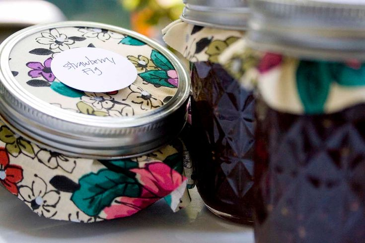 Strawberry Fig & Fig Preserves -8oz each. $14.00, via Etsy.