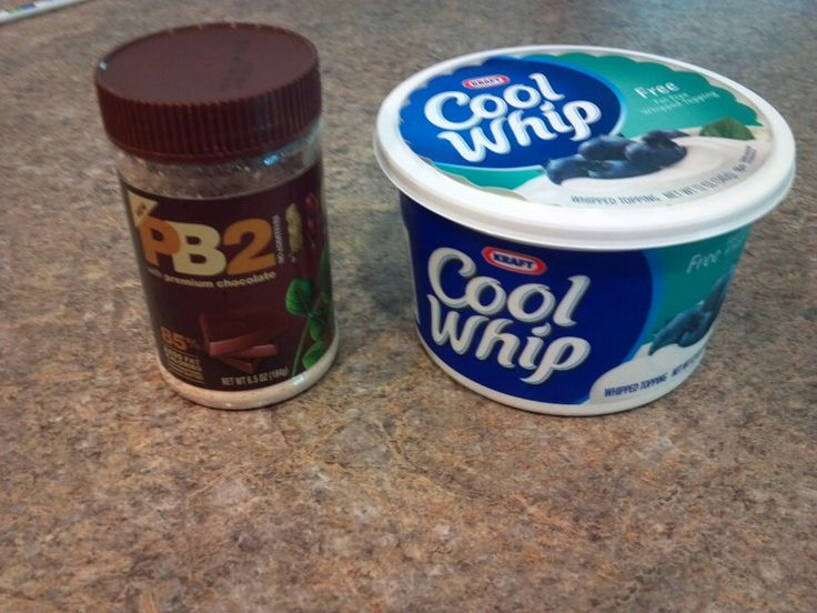 PB2 + Fat Free Cool Whip= A healthy fruit dip,  kids and adults both love!  Mix 1 part PB2 powder with 6 parts Cool Whip. Play around with it to your tastes.  Way better for kids than fatty peanut butter!