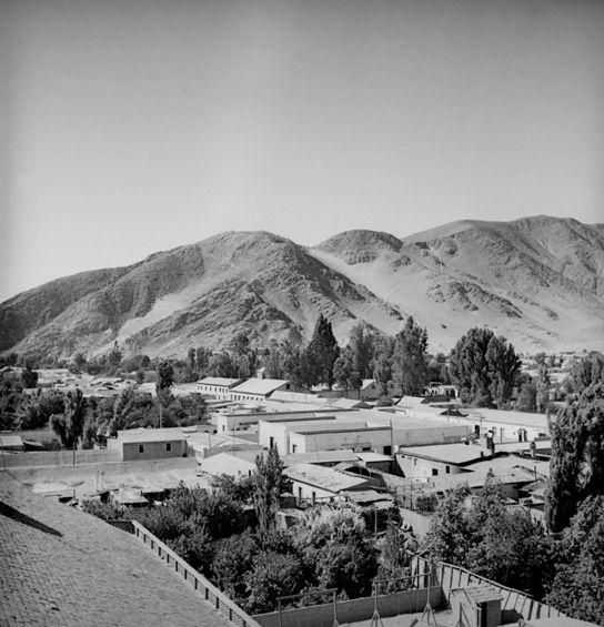Una vista de Copiapó en los años20, tomada seguramente desde la catedral.