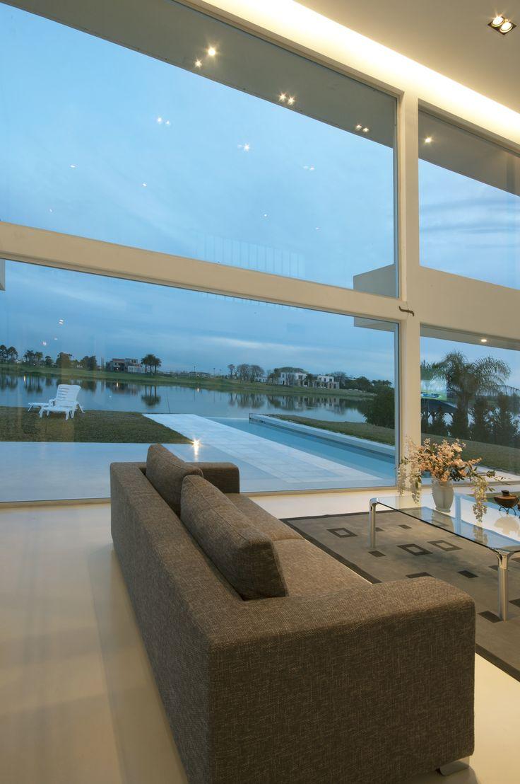 Casa Pool #VanguardaArchitects #DobleAltura #Arquitectura #Achitecture #Interiorismo