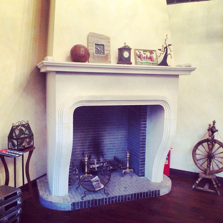Fireplace designed  by ukdesign.ru