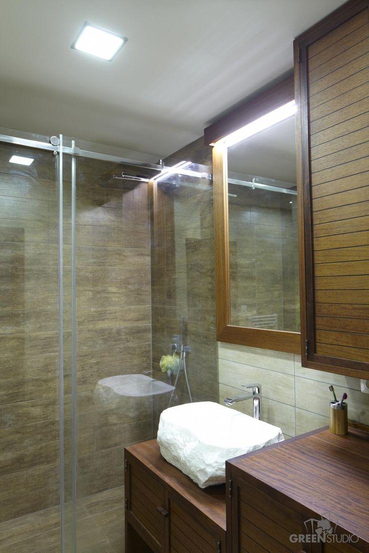 Interiér bytu na Bosákovej ulici - kúpeľňa