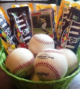 Ideas for easter basket for boys!