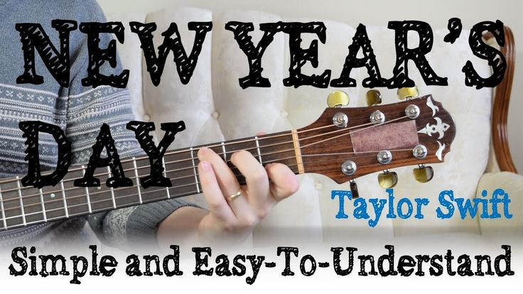 """New Year's Day"" Guitar Tutorial 