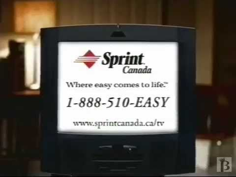 "Sprint Canada ""Great Relationships"" Commercial 1999"