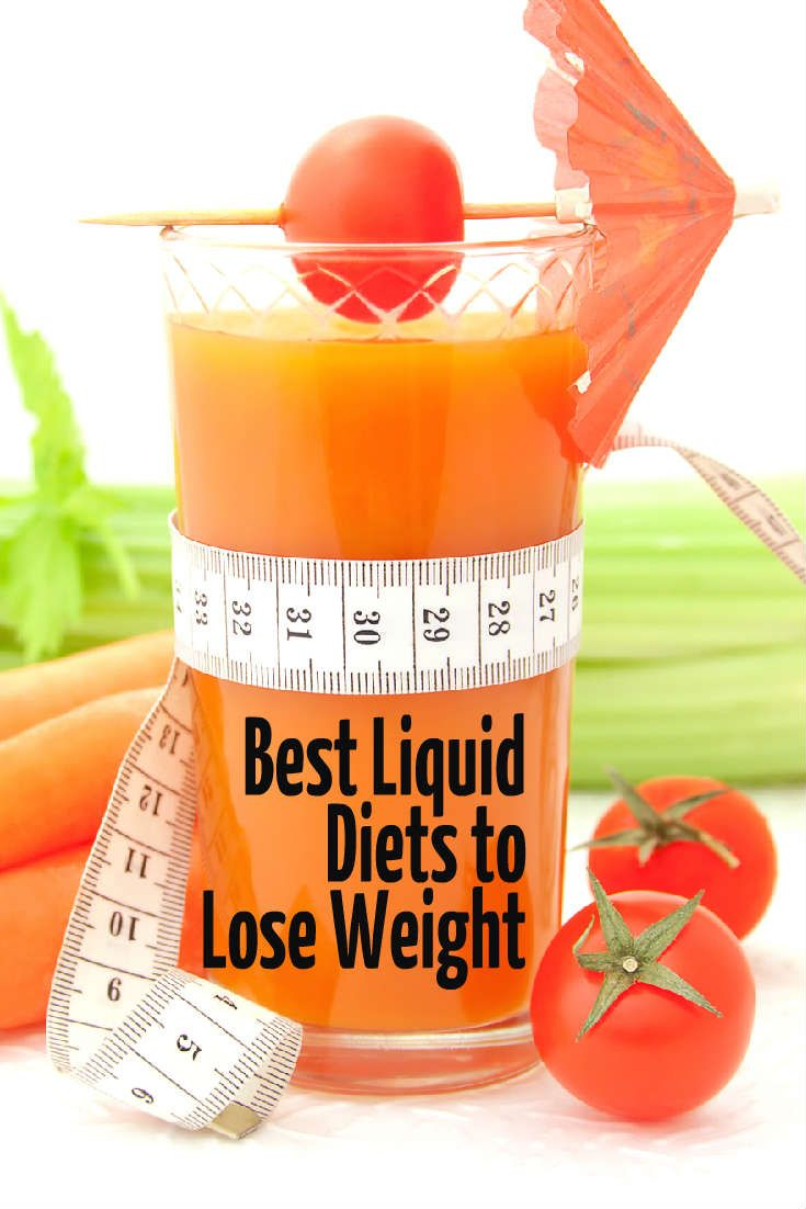 Healthy liquid diets to lose weight fast
