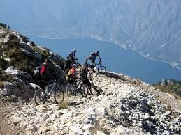 """mountain biking garda see"""
