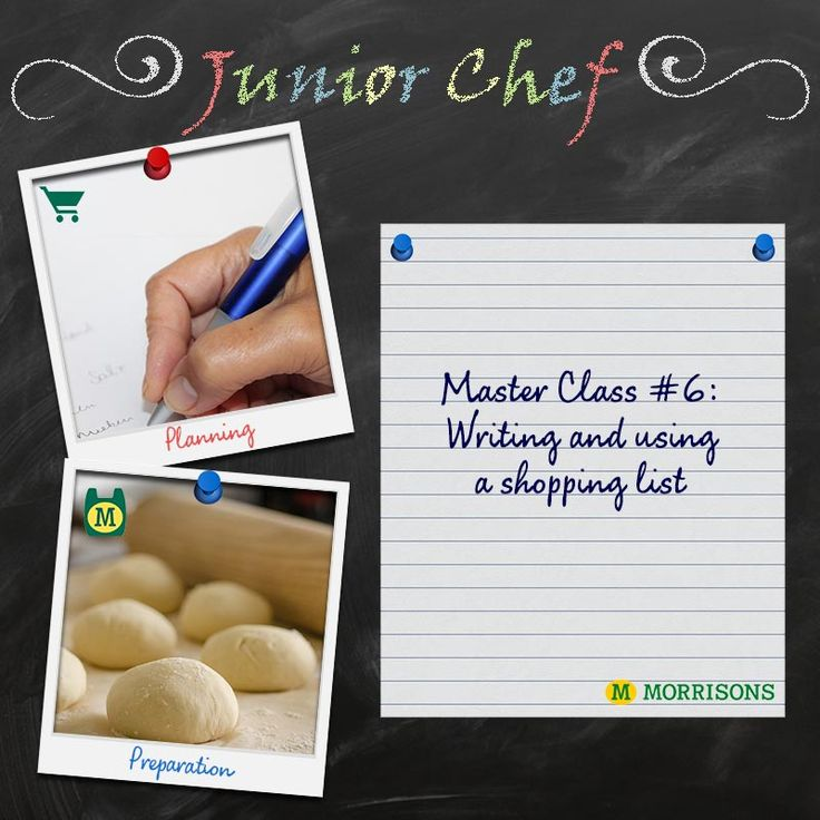 It's day 6 of our Junior Chef Masterclasses! Are you ready for the final challenge? Tomorrow we'll be bringing you a delicious roast chicken dinner recipe. But, before you rush off to the kitchen, use our handy shopping list to make sure you're prepared.