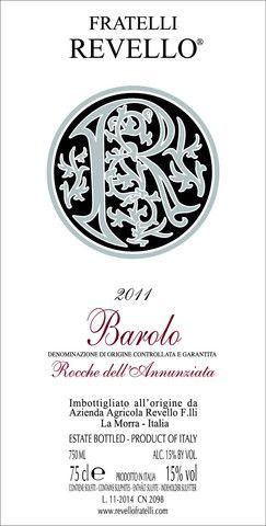 Revello Barolo Rocche dell´Annunziata 2011