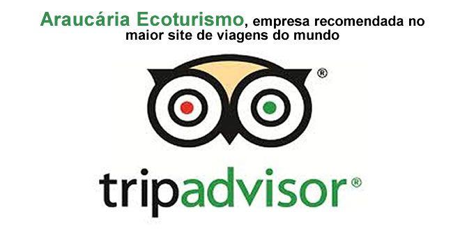 Araucária Ecoturismo ganha selo de recomendação TripAdvisor