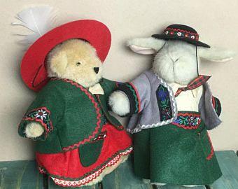 Muffy & Hoppy Vanderbear Alpine Collection Eine Kliene Mountain Climbing Outfit*