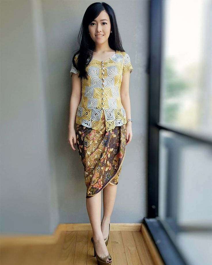 Silk Batik. Look Gorgeous! ♡