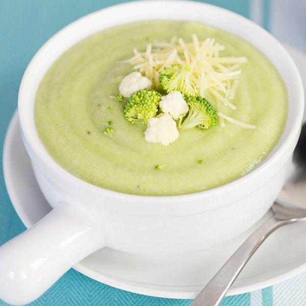Recipe: Weight Loss Creamy Cauliflower and Broccoli Soup