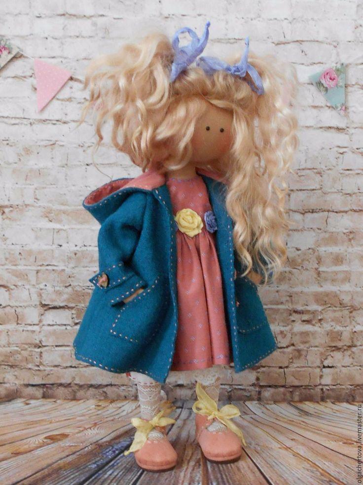 Купить Алёнушка - комбинированный, кукла ручной работы, кукла, кукла в подарок, кукла Тильда