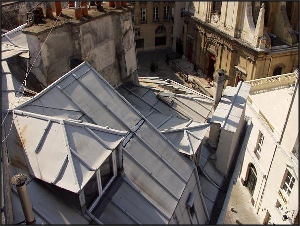 Toits de Paris, Rooftops in Paris by Arnaud Frich