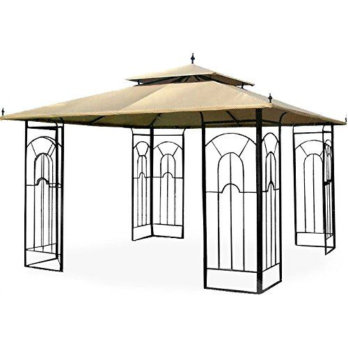 Garden Winds Arrow Gazebo Replacement Canopy Riplock 500 ** Details can be found by clicking on the image.