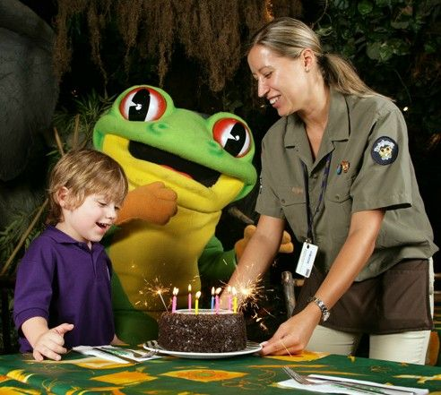 Celebrate your birthday at Rainforest Cafe with our triple layered chocolate Birthday Cake! http://www.therainforestcafe.co.uk/menus/kidsparties.asp
