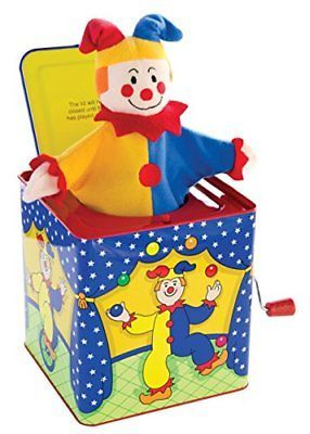 Jack-in-the-Box 166785: Schylling Jack-In-The-Box Turn The Handle And It Plays Pop Goes The Weasel -> BUY IT NOW ONLY: $31.35 on eBay!