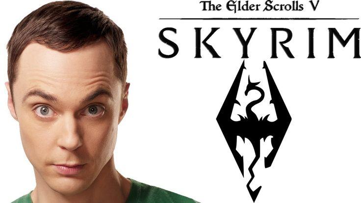 Skyrim: Dr. Sheldon Cooper - Character Creation № 45