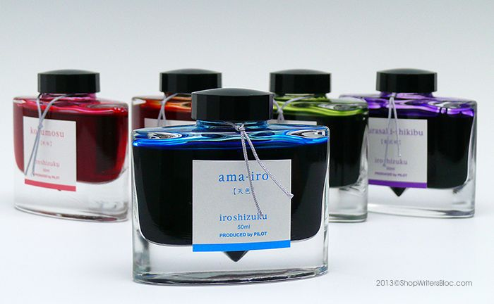 Our choice of 10 Fountain pen ink bottles: What's yours?