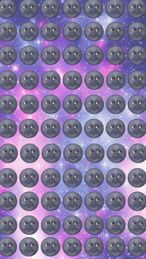 Moon Emoji is cray!