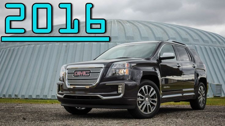 ►2016 All New GMC Terrain Denali V-6 AWD 6 Speed Automatic First Drive R...