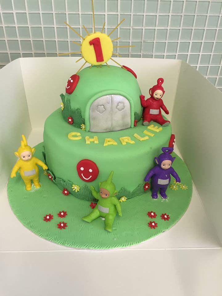 Teletubbies cake I made